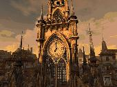 Clock Tower 3D Screensaver Screenshot