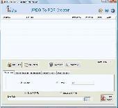 Converting JPG to PDF Screenshot