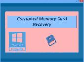 Screenshot of Corrupted Memory Card Recovery