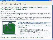 D3S Nikon DSLR Camera Information Screenshot