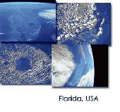 Earth from Space - Florida Screen Saver Screenshot