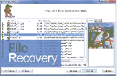 Screenshot of easy data file recovery