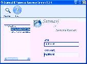 Email accounts passwords restoration software Screenshot