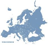 Europe Map Locator Screenshot