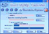 Excel Mysql wizard import Excel to MySQL 4.o Screenshot