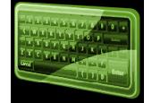FPS Virtual Keyboard for WPF Screenshot
