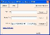 Free Convert M2TS to Epson 5000 Screenshot