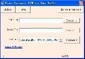 Free Convert PCM to Zen Audio Screenshot