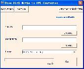 Screenshot of Free DivX Movie to DVD Converter