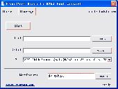 Free DivX Movie to H263 Fast Convert Screenshot
