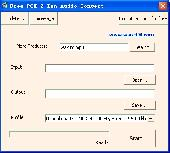 Free PCM 2 Zen Audio Convert Screenshot