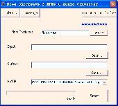 Free Shockwave 2 MPEG-4 Audio Converter Screenshot