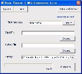 Free Videos 2 MP2 Converter Lite Screenshot