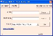 Free WAV 2 iPod Audio SE Screenshot