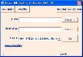 Free WM Audio 2 Apple AAC SE Screenshot