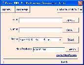 Free WMA 2 iPod nano Converter Lite Screenshot