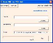 Screenshot of Free WMP to VCD DAT