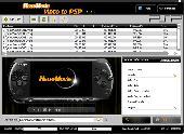 HelloMovie Video to PSP Screenshot