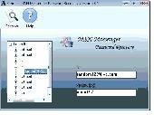 Hotmail MSN Messenger Password Recovery Screenshot
