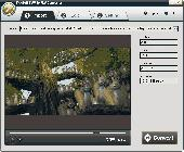 Screenshot of iPixSoft SWF to FLV Converter