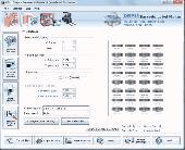 Industrial Barcode Software Screenshot
