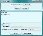 Java Dial-up Networking (DUN) - JDUN Screenshot