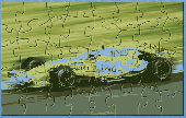 JDI F1 Renault Puzzle Screenshot