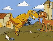Screenshot of Jr. Dinosaur Hunter