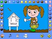 Leah's Farm Coloring Book Screenshot