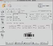Mac Barcode Software Screenshot