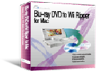 Screenshot of Blu-ray DVD to Wii Ripper for Mac