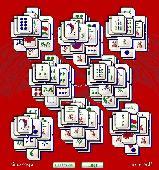 Mahjong Solitaire Bubbles Screenshot