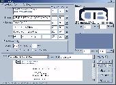 MemDB Envelope Printing System Screenshot
