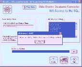 Migrate From Access To SQL Server Screenshot