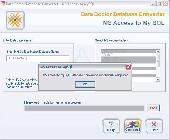 MS Access DB Converter Software Screenshot