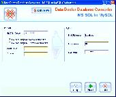 MSSQL Conversion Software Screenshot