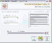 MSSQL Database to MySQL Conversion Tool Screenshot