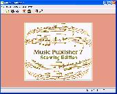 Music Publisher 5.07e Screenshot