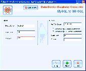 MySQL To MS SQL Conversion Software Screenshot