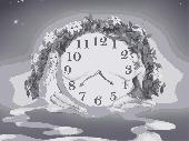 Natural Harmony Clock Screen Saver Screenshot