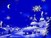 New Year Snowfall Screenshot
