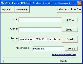 OOO Free MPEG-4 Audio to Zen v Converter Screenshot