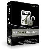 pdf decrypt Converter Screenshot