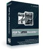 pdf to jpeg Converter command line Screenshot