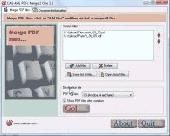 PDFs Merge 2 One Screenshot