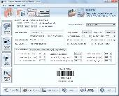 Post Office Barcode Maker Software Screenshot