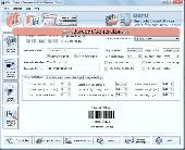 Postal Mail Barcode Fonts Screenshot