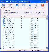 ProxyShell Anonymous Proxy List Surfing Screenshot
