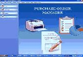 purchase order system Screenshot