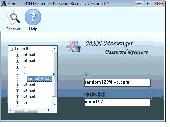 Recover MSN Messenger Password Tool Screenshot